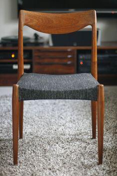 Rastad og Relling Bambi stoler 1959   FINN.no Bambi, Scandinavian Design, Teak, Dining Chairs, Retro, Furniture, Home Decor, Decoration Home, Room Decor