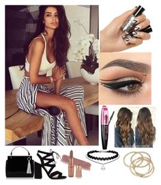 """""""Untitled #94"""" by loved9999 ❤ liked on Polyvore featuring L'Oréal Paris and ABS by Allen Schwartz"""