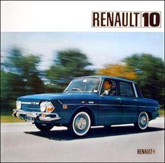 Renault 10 4-Door Sedan   Dit was dan mijn eerste echte eigen auto, gekocht van een boer voor 150 Gulden, flink geroest maar hij reed :-)