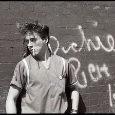 A young RDJ.  80s