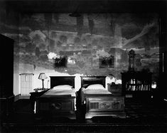 Abelardo Morell. Camera Obscura. Tuscan Landscape in Large Bedroom, Florence, Italy, 2000