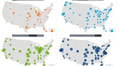 These 4 maps show the insanity of US health care prices