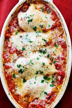 One Dish Chicken Bake Recipe. On Metabolic menus use green onion.