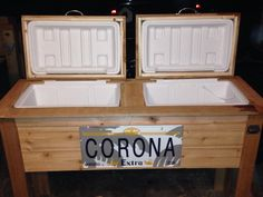 Double cooler for sale!