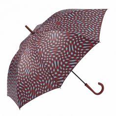 Paraguas largo estampado y automático