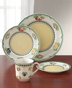 Villeroy & Boch Dinnerware, French Garden Collection  - Macy's