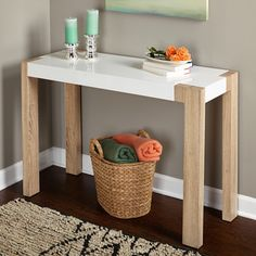 Shop for Simple Living Smart Console Table/ Desk. Get free shipping at Overstock.com - Your Online Furniture Outlet Store! Get 5% in rewards with Club O!