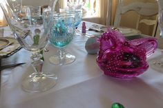 About Easter, Glass Vase, Table Decorations, Home Decor, Decoration Home, Room Decor, Home Interior Design, Dinner Table Decorations, Home Decoration