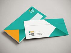You can easily find an amazing envelope design template for your business or personal use. Use it to help you come up with some great letterhead designs. Corporate Design, Business Design, Corporate Identity, Brand Identity, Letterhead Design, Branding Design, Stationery Design, Logo Design, Graphic Design
