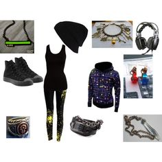 True gamer-girl outfit, created by black-veil-brides-lover-dlx on Polyvore