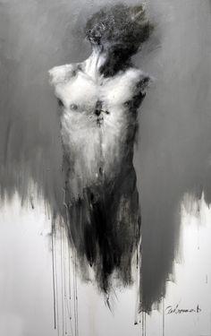 great torso in grey