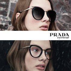 Qual seu preferido: sol ou grau? 🤔 #oticaswanny #prada #pradaeyewear