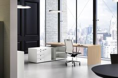 Office Interior Design Ideas Modern is completely important for your home. Whether you pick the Business Office Decorating Ideas or Modern Home Office Design, you will make the best Office Interior Design Ideas for your own life. Ceo Office, Executive Office Desk, Modern Office Desk, Luxury Office, Office Nook, Office Storage, Office Desks, Stylish Office, Office Table