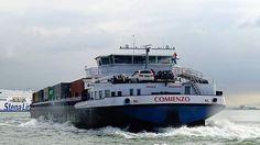 #ship #shipping #containership #containership #container #port #portofrotterdam #harbour #b #binnenvaart #binnenvaartschip