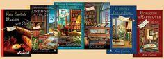Jenn's Bookshelves Cozy Mystery Week Day Three: Bibliophile Mysteries by Kate Carlisle | Jenn's Bookshelves