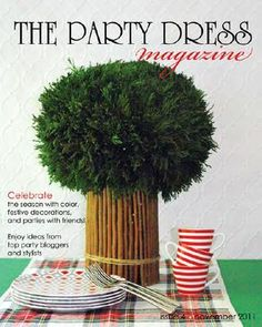 A whole (free, online) magazine dedicated to party decor, and how-to's.