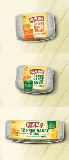 New Day Free Range Eggs by Coats Design