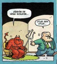 Karikatür komedi dram :) erdoğan