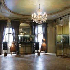 The Fragonard perfume museum on rue Scribe & boutique. I was last there in 2001 and remember it fondly. :)