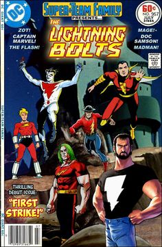 Super-Team Family: The Lost Issues!: The Lightning Bolts