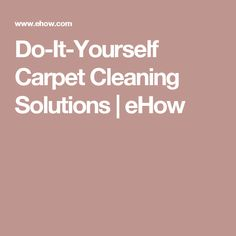 The best ever homemade dry carpet cleaner carpet cleaners do it yourself carpet cleaning solutions solutioingenieria Image collections