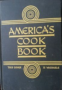 America's Cook Book 1937 The Home Institute of the NY Herald Tribune 1ST EDITION 16.00