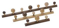 EnKnag™ med knopper i natur fra RomerDesign (7 knopper – L: 83 cm D: 10 cm - 5 knopper 58 cm - 3 knopper 33 cm)