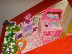 Barbie Dream House by Barbie Creations...I had all of these!