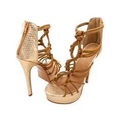 Gigi Lace Artistry Platform Stiletto – MyShoeHaul.com #stilettos #fashion #platforms