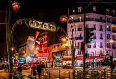 Moulin Rouge. Paris, France.