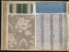 1700 - Pattern book of silks and damasks - via archive.org