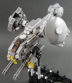 AGW-003 | Anti-armor gunship named Hummingbird by ishihiro