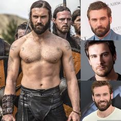 Clive Standen from Vikings and new show Taken.