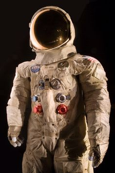 This spacesuit was worn by astronaut Neil Armstrong, Commander of the Apollo 11 mission. Armstrong became the first human to walk on the surface of the moon on July 20, 1969.