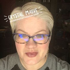 Limited Edition Crystal Mauve LipSense by SeneGence is a cool color. You can view it on people, look at combos or comparisons or even in a collage.  However, nothing rivals seeing it on a real person.  Click to purchase yours NOW!  #lipsense #senegence