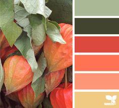 autumn hues - voor meer kleur en interieur inspiratie kijk ook eens op  http://www.wonenonline.nl/interieur-inrichten/kleuren-trends-2014/