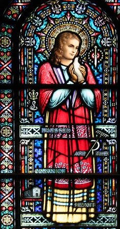 Saint of the Day – 6 July – St Maria Goretti Stained Glass Church, Stained Glass Windows, Catholic Saints, Roman Catholic, St Maria Goretti, Christian Virtues, Pope Pius Xii, Political Images, St Agnes