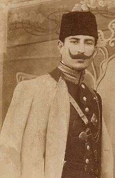 AN OTTOMAN ARTILLERY OFFICER, 1900s (Bir Osmanlı Topçu Subayı) | by OTTOMAN IMPERIAL ARCHIVES