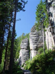 Adršpach : Adršpašsko-teplické skály : Skalní města, Výlety do okolí, Sportovní příležitosti, Kudy k nám