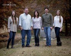 Family Portraits - Family Portrait Ideas - Family Pictures - St. Andrews Garden Area.
