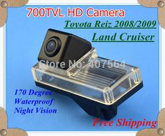 700TVL !!! car Rear View Reverse back up parking camera Parking system for Land Cruiser Reiz 08/09 #Affiliate