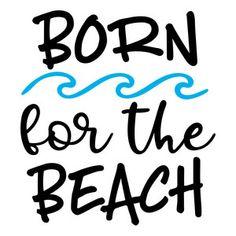 Silhouette Design Store - View Design born for the beach