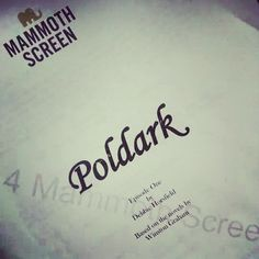 Via Poldark on Instagram: Wouldn't we all like to know what's in here? #poldark #script #mammothscreen #tv #drama #winstongraham #britishdrama