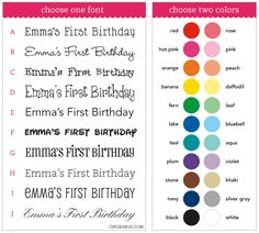 Custom water bottle labels to match any party theme