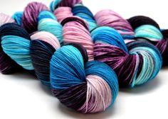 In Stock / Fingering/Sock Yarn / Merino/Nylon / by YarnInkstudio