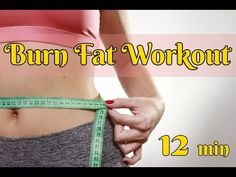 BURN FAT WORKOUT/12 MIN/PILATES - YouTube Fat Burning Workout, Fat Workout, Fitness Pics, Workout Pictures, Fat To Fit, Pilates, Burns, Youtube, People