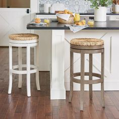 Sconset Bar & Counter Stool Bar Counter, Counter Stools, Bar Stools, New Years Decorations, Halloween Decorations, Stools For Kitchen Island, Master Bath Remodel, Wood And Metal, Grandin Road