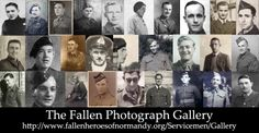 The Fallen Photograph Gallery at http://www.fallenheroesofnormandy.org/Servicemen/Gallery for the latest portraits (46-73), and links to the memorial pages, of British and Canadian Normandy casualties that have recently been added to the Fallen Heroes of Normandy archive and website. Each memorial page has a BOOK OF REMEMBRANCE, all are welcome to add their comments...