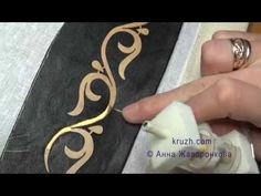 Tambour Embroidery, Embroidery Alphabet, Couture Embroidery, Gold Embroidery, Peacock Embroidery Designs, Stencil Patterns, Gold Work, Button Flowers, Polymer Clay Crafts