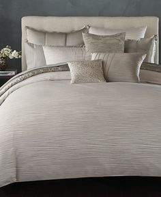 Donna Karan Home Reflection Silver Collection - Bedding Collections - Bed & Bath - Macy's